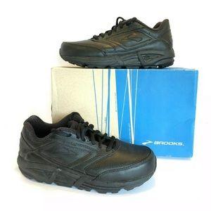 NIB BROOKS 6.5 Addiction Walker Athletic Shoe Blk
